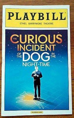 Curious Incident of the Dog in Night-Time Broadway Show Theater Playbill