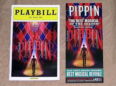 Pippin Broadway Musical Show Theater Playbill Ad New York City
