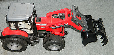 MASSEY FERGUSON 7480 TRACTOR WITH LOADER 17 Inches long