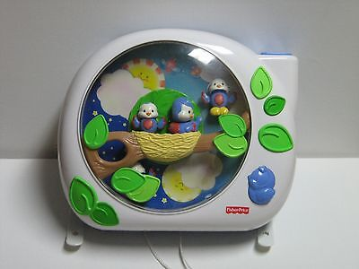 Fisher Price Flutterbye Birds Crib Soother With Music,lights And Projector 2004