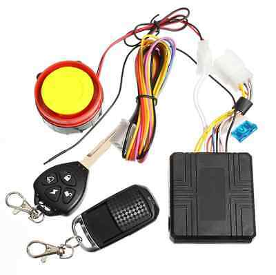 12v Universal Motorcycle Motorbike Scooter Security Alarm System Remote Control