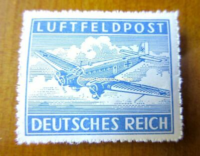 EBS Germany 1942 Military Post Stamp for Air Letters - Michel 1B rouletted MNH**