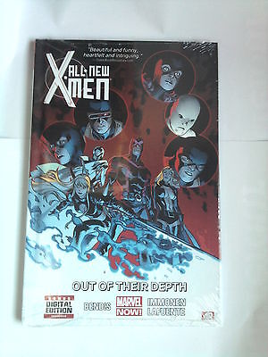 Hardcover  ALL NEW X-MEN  3 OUT OF THEIR DEPTH (MARVEL ) Bendis / 136 Pages