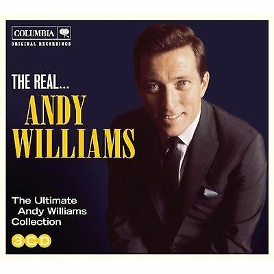 ANDY WILLIAMS * 60 Greatest Hits * NEW 3-CD BOX SET *All Original Songs * NEW