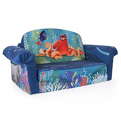 Marshmallow 2 in 1 Comfy Flip Sofa Finding Nemo Dory Toddler Nap Couch NEW