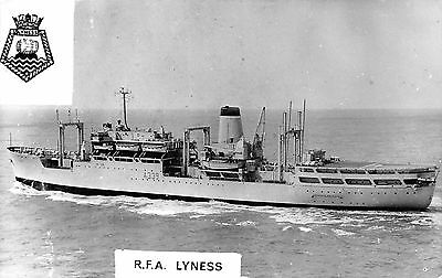 Postcard / Photo  Ships    Rfa  Lyness