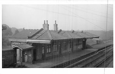 POSTCARD / PHOTO    DERBYSHIRE   RENISHAW  Central  Station