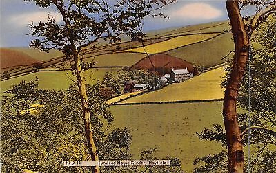 POSTCARD    DERBYSHIRE   HAYFIELD  Tunstead  House