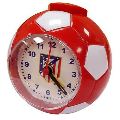 Official Licensed Football Product Atletico Madrid Football Alarm Clock Gift New