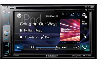 "Pioneer AVH-X3800BHS Double 2 DIN DVD/MP3/CD Player 6.2"" LCD Bluetooth HD Radio"
