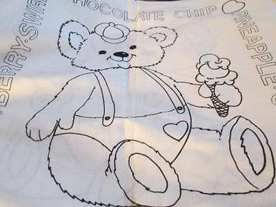 Tri-Chem Teddy Love Pillow Covers #2943- 2x14 Inches Square-To Paint/Embroider
