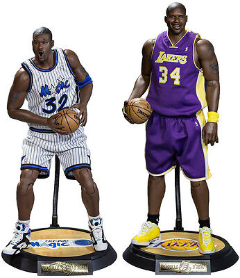 NBA - Shaquille O'Neal 1/6th Scale Action Figure Duo Pack (Enterbay) #NEW
