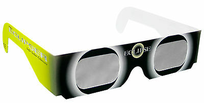 Solar Eclipse Glasses - Pack 4 Viewers - CE Approved Sun Filter Shades FREE P&P
