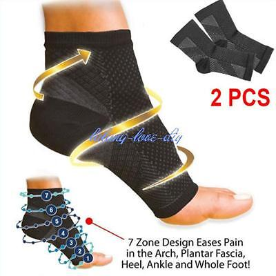 Ankle Foot Elastic Compression Anti Fatigue Circulation Swelling Relief J