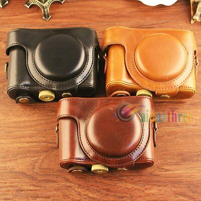 High Quality PU Leather Protector Case Bag Cover For Sony RX100 I II III Camera