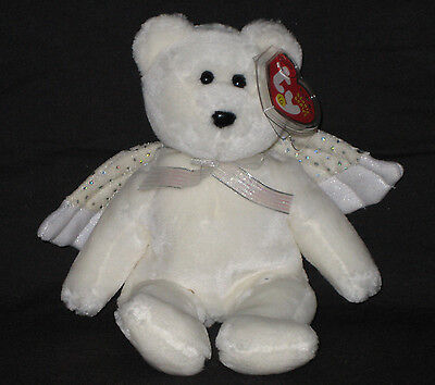 TY HERALD the BEAR BEANIE BABY - MINT with MINT TAGS