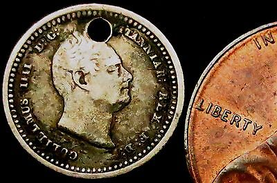 S395: 1832 William IV Silver Twopence - year of The Great Reform Act