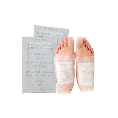 1-100x Herbal Detox Foot Pads Patches Remove Body Toxins Diet Weight Loss Health