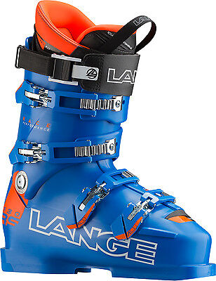 LANGE Skiboot RS 130 Scarpone Sci Race Uomo  2016/2017 POWER BLUE LBF1030