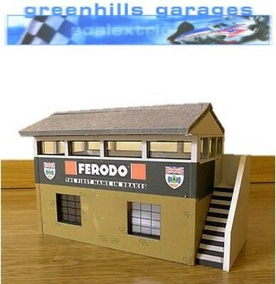 Greenhills Scalextric Slot Car Building Silverstone Timekeepers Hut Kit 1:32 sca
