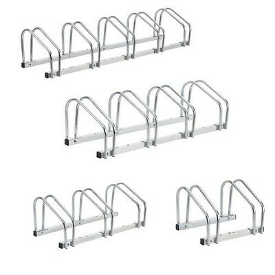 [neu.haus] Bicycle kickstand Stand Multiple racks Steel galvanised For 2-5 Bikes