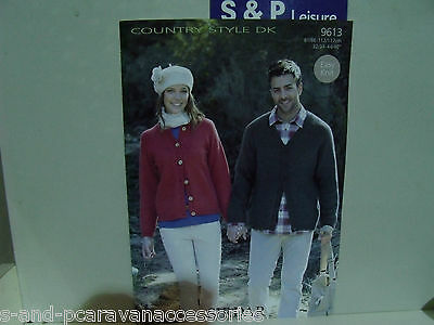 Sirdar  Country Style Double Knitting Pattern 9613