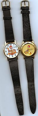 Pair of Different Ronald McDonald Wrist Watches