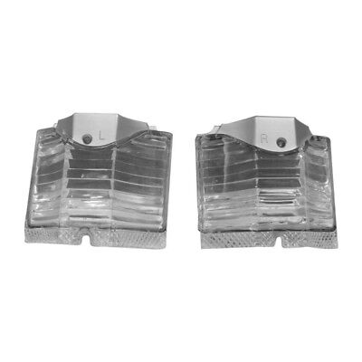64 El Camino Back Up Lamp / Light Lens - Pair