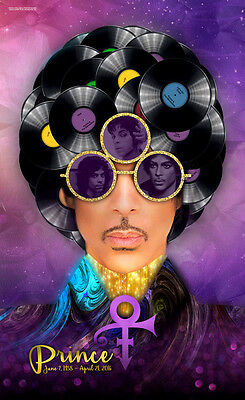 "Prince Singer Art Wall Deco  High Quality New Rare Poster 13x20"" 24x36"" 32x48"""