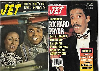 1974 Jet African-American BLACK magazine featuring the movie CLAUDINE + 1995