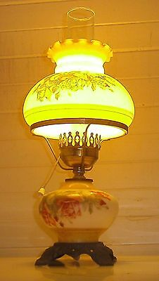 old style brass kero lamp ELECTRIC