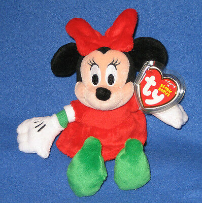 f893ea041fc TY DISNEY MINNIE MOUSE BEANIE BABY - WALGREEN S EXCLUSIVE - MINT with MINT  TAGS