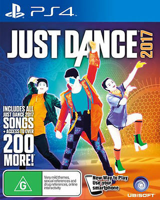 Just Dance 2017 PS4 Games New Sealed PAL Sony Playstation 4