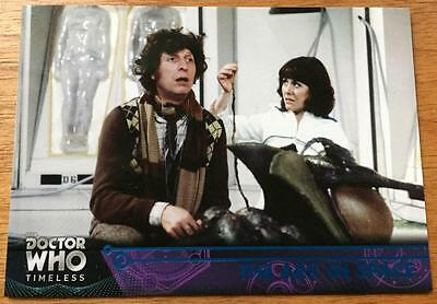 2016 Topps DOCTOR WHO Timeless #20 - The Ark in Space - Blue Parallel 18/99