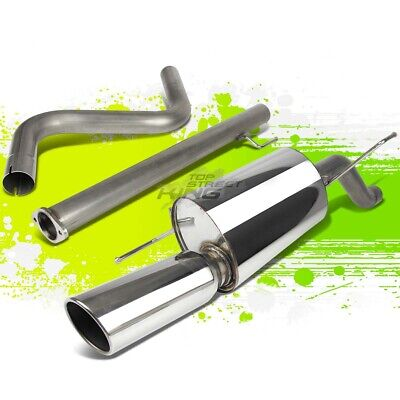 """Fit 12-16 Sonic T300 Turbo//1.8 4/"""" Muffler Tip Stainless Racing Catback Exhaust"""