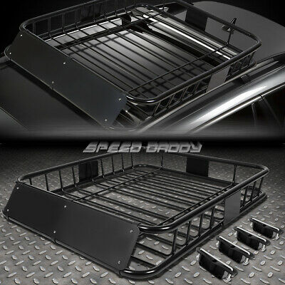 Roof Basket Steel Carrier Rack Universal Fits Pajero Shogun Jimny 1.2M X 1M