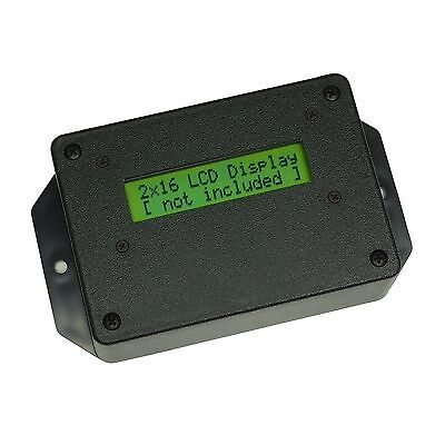 ABS Plastic Enclosure w/ Mounting Hardware, Window for 2x16 LCD