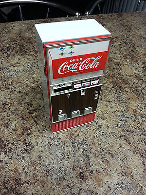 Coca Cola Musical Piggy Bank Die Cast Metal (Video inside)