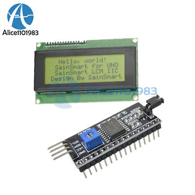 20x4 LCD 2004 Character Display + IIC/I2C/TWI/SPI Serial interface Board Module