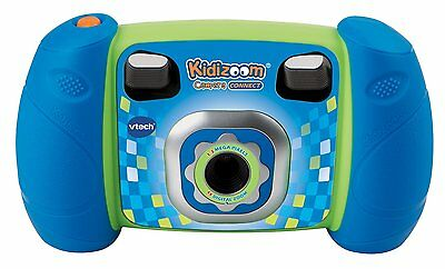 VTech Kidizoom Camera Connect, Blue Discontinued by manufacturer
