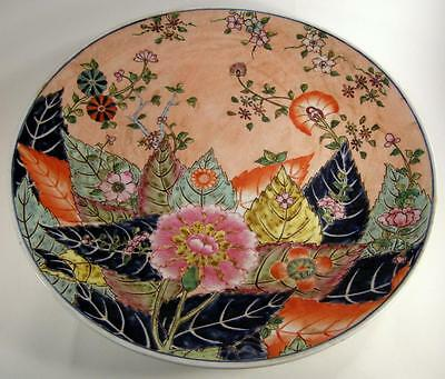 "Meiji Period Hand Painted Japanese 13 1/4"" Charger Imari Palette"