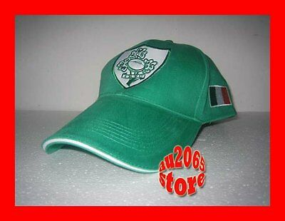 New Green Ireland Flag Rugby Adults Baseball Cap Hat