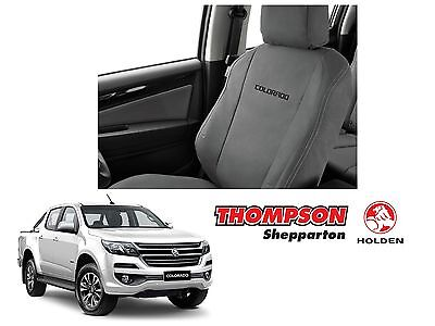 New Genuine Holden Colorado RG-H MY17 (Front) Canvas Seat Covers - 92507406