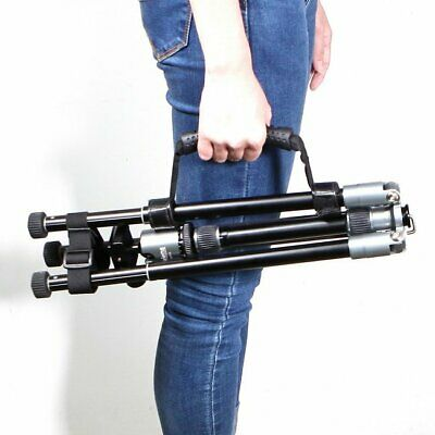 MK Universal Adjustable Carrying Velcr* strap Rubber Handle Hand Grip For Tripod