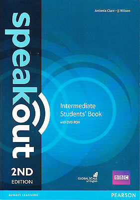 Pearson SPEAKOUT 2nd EDITION Intermediate Students' Book with DVD-ROM @NEW@