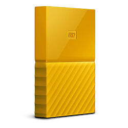 Wd - Ext Hdd Mobile Mypassport Ultra 4Tb Yellow 2.5In Usb 3.0
