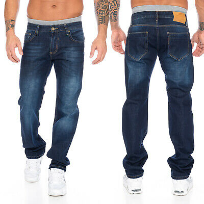 Rock Creek Herren Jeans Hose Regular Fit Hellblau RC 2141
