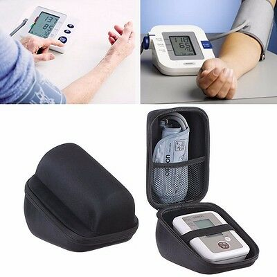 New Waterproof Storage Pouch Carry Hard Case Omron Blood Pressure Monitor Bag
