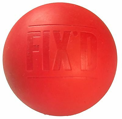 FIXD Lacrosse Ball Physio Massage Ball Trigger Point | FREE RELEASE GUIDE!!!