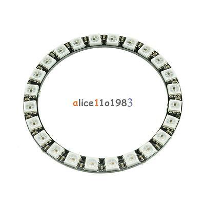 WS2812B 5050 RGB LED Ring 24Bit RGB LED + Integrated Drivers For Arduino